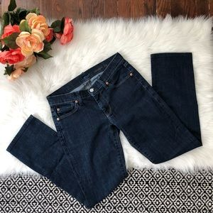 7 For All Mankind straight leg Jeans Stretch